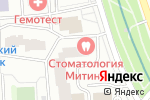 Схема проезда до компании ТРЕВЕЛ ИКС в Москве