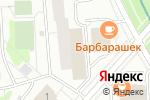 Схема проезда до компании ПТМ-Телеком в Москве