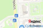 Схема проезда до компании Ромашка в Немчиновке