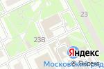 Схема проезда до компании Евросеть в Московском
