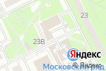 Схема проезда до компании Comepay в Московском