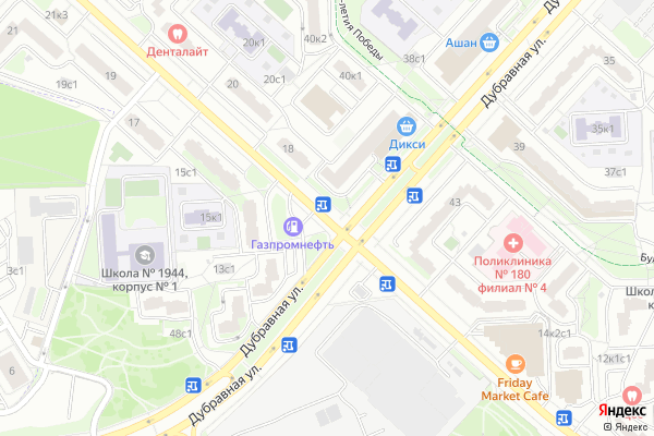 Ремонт телевизоров Улица Барышиха на яндекс карте