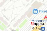 Схема проезда до компании Ивановский текстиль в Москве