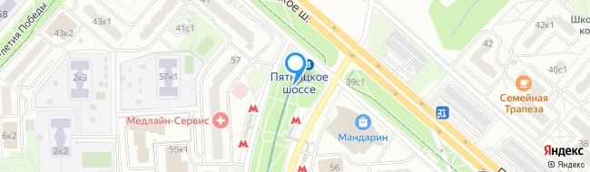 метро Пятницкое шоссе