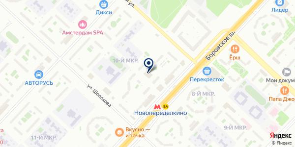 ЖКХ КАПСТРОЙ-К на карте Москве