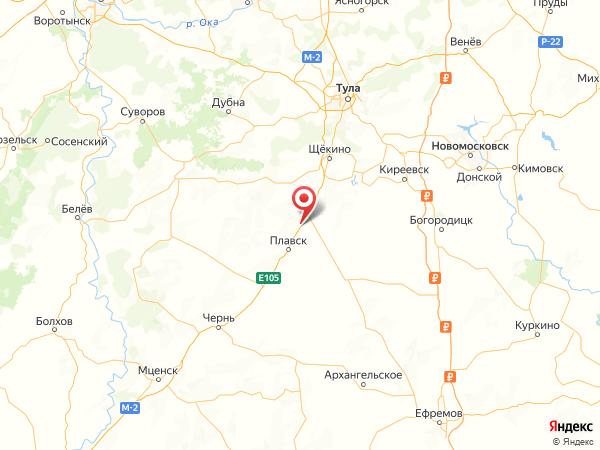 деревня Богородицкие Дворики на карте