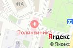 Схема проезда до компании Взрослая поликлиника в Москве