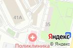 Схема проезда до компании Стиль 21 века в Московском