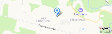 Академия гражданской защиты МЧС РФ на карте Химок