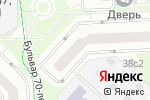 Схема проезда до компании K-mestu.ru в Москве