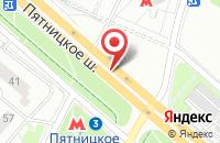Схема проезда до компании РДМ кухни в Москве