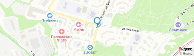 улица Генерала Белобородова