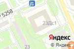 Схема проезда до компании Московский дворик в Москве