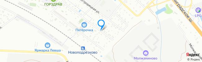 улица Сестрорецкая 2-я