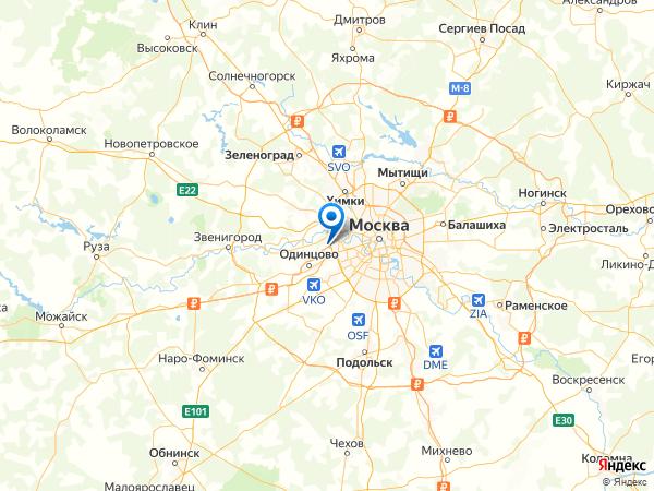 село Ромашково на карте