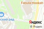 Схема проезда до компании Шиномонтажная мастерская в Московском