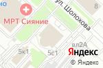 Схема проезда до компании Девчата в Москве