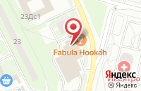 Схема проезда до компании ЗаОдно в Московском