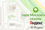 Схема проезда до компании Manger Delicious в Москве
