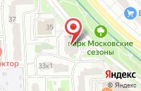 Схема проезда до компании Манор в Москве