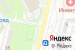 Схема проезда до компании От души в Московском
