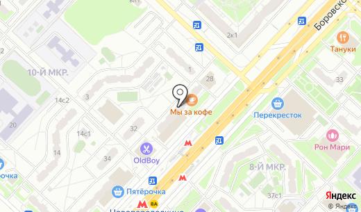 Восторг. Схема проезда в Москве