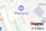 Схема проезда до компании Профи Групп в Москве