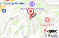 Схема проезда до компании Акорда в Москве