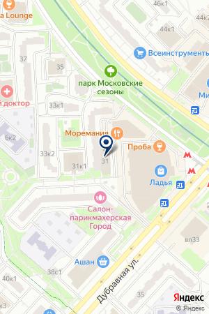 МАГАЗИН БЫТОВОЙ ТЕХНИКИ ДЛЯ ДОМА И ДРУЗЕЙ на карте Москвы