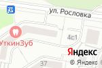 Схема проезда до компании Все для рукоделия и штор в Москве