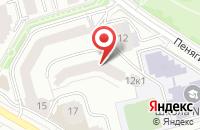 Схема проезда до компании Аларт в Москве