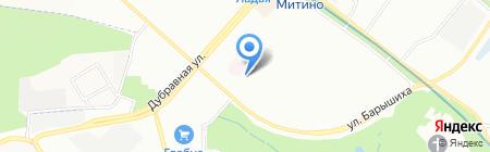 Солнечный Мастер на карте Москвы