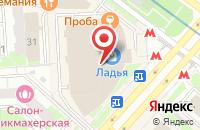 Схема проезда до компании Мабель в Москве