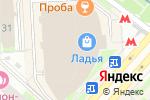 Схема проезда до компании Евро ломбард в Москве