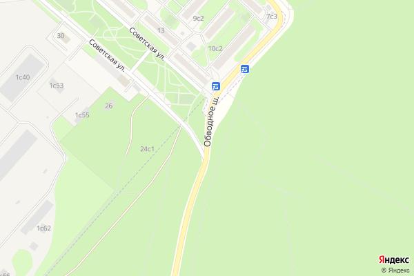Ремонт телевизоров Обводное шоссе на яндекс карте