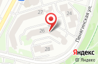 Схема проезда до компании Агентство Национальных Программ в Москве