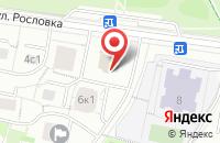 Схема проезда до компании Дермика в Москве