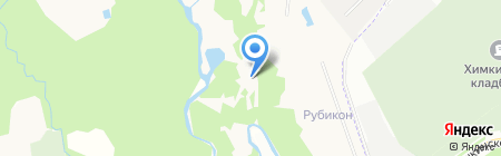 Планерное на карте Химок