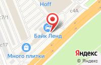 Схема проезда до компании Байк Ленд в Новоивановском