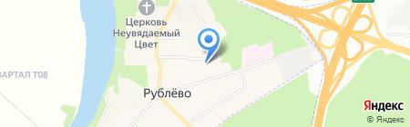 Рублевский ветеринарный участок на карте Москвы