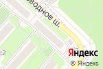 Схема проезда до компании Эсент принт в Москве