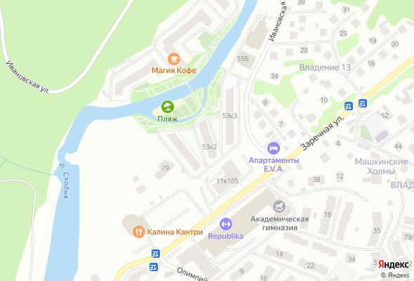 жилой комплекс Олимпийская Ривьера Новогорск