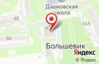 Схема проезда до компании СПЕЦСТРОЙПРОЕКТ в Большевике