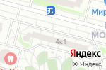 Схема проезда до компании Модная точка в Московском
