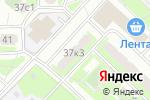 Схема проезда до компании Добролизинг в Москве