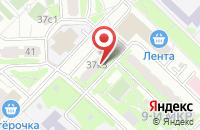 Схема проезда до компании Инновационные Технологии в Москве