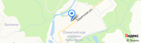 Святовит на карте Химок