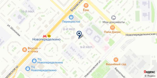 Поставка Метрологии на карте Москве