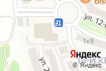 Схема проезда до компании Грааль в Гаврилково