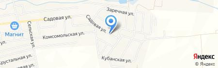 Администрация Приморского сельского округа на карте Анапы